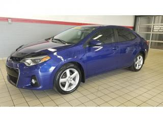 Used 2016 Toyota Corolla 4dr Sdn MAN S/MAG/CUIR ***LIQUIDATION*** for sale in Terrebonne, QC