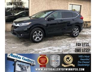 Used 2018 Honda CR-V EX-L *AWD/B.tooth/Htd Lthr/Roof/Back.Cam for sale in Winnipeg, MB
