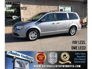 Used 2018 Dodge Grand Caravan SXT Premium Plus *Nav/B.tooth/DVD/Pwr Slide Doors for sale in Winnipeg, MB