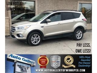 Used 2017 Ford Escape SE *4x4/B.tooth/Back.Cam/Htd Sts/Pano Roof for sale in Winnipeg, MB