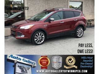 Used 2016 Ford Escape SE *Navi/B.tooth/Back.Cam/Htd Seats for sale in Winnipeg, MB