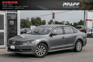Used 2012 Volkswagen Passat Trendline 2.5 5sp for sale in Orangeville, ON