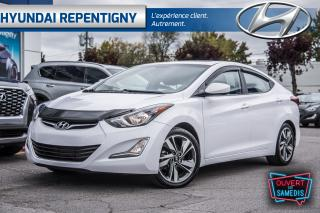 Used 2015 Hyundai Elantra GLS 4 PORTES**A/C, TOIT OUVRANT, MAGS, CAMÉRA** for sale in Repentigny, QC