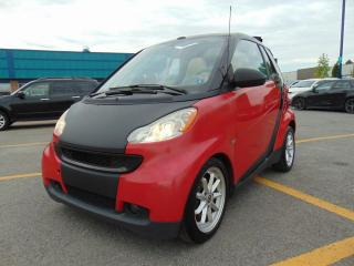 Used 2009 Smart fortwo Cabriolet 2 portes Passion for sale in St-Eustache, QC