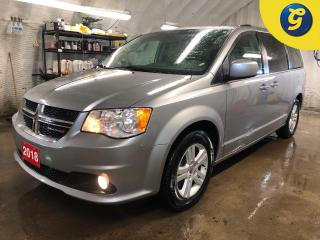 Used 2018 Dodge Grand Caravan Crew Plus * 7 Passenger * Stow N Go * Leather interior with perforated inserts * Power sliding and rear doors * Power windows with front onetouch dow for sale in Cambridge, ON