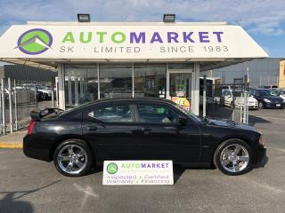 Used 2008 Dodge Charger R/T HEMI! FACTORY REAR DVD, NAVI AND BLUETOOTH!! FREE BCAA! FREE WRNTY! FINANCE IT! for sale in Langley, BC