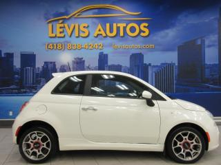 Used 2013 Fiat 500 SPORT AUTOMATIQUE CUIR BLUETOOTH for sale in Lévis, QC