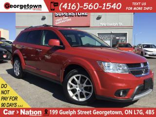 Used 2014 Dodge Journey R/T| NAVI | AWD |7 PASS |LEATHER |DVD |ROOF for sale in Georgetown, ON