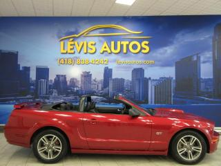 Used 2006 Ford Mustang GT V-8 4.6 LITRES CABRIOLET AUTOMATIQUE for sale in Lévis, QC