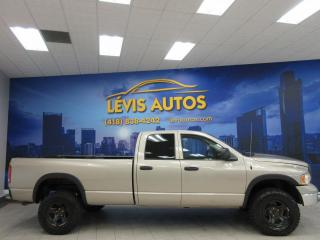 Used 2004 Dodge Ram 1500 1500 5.7L HEMI 4X4 BOITE 8 PIEDS QUAD CA for sale in Lévis, QC