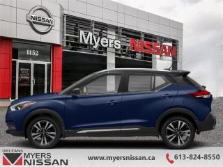 New 2019 Nissan Kicks SR FWD  -  Heated Seats -  Fog Lights - $176 B/W for sale in Orleans, ON