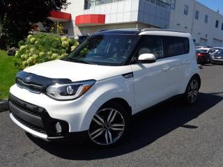 Used 2017 Kia Soul EX Tech * TOIT * CUIR * NAV * for sale in Ste-Julie, QC