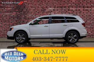 Used 2017 Dodge Journey AWD Crossroad Leather Roof DVD for sale in Red Deer, AB