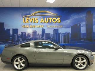 Used 2010 Ford Mustang GT MANUEL V8 CUIR TOIT PANORAMIQUE GPS for sale in Lévis, QC