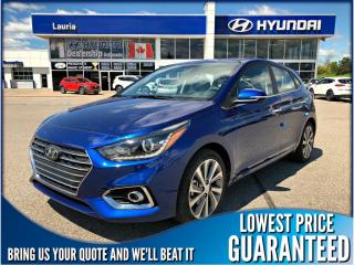Used 2020 Hyundai Accent 5DR Ultimate Auto for sale in Port Hope, ON