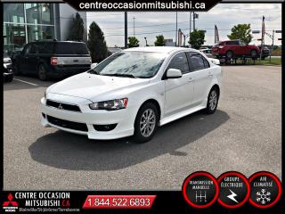 Used 2010 Mitsubishi Lancer SE A/C MAGS AILEROND MAN for sale in St-Jérôme, QC