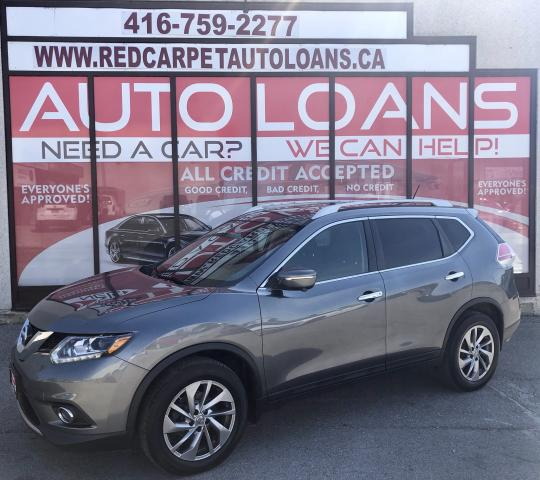2015 Nissan Rogue SL-ALL CREDIT ACCEPTED