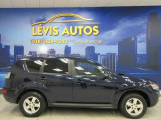 Used 2010 Mitsubishi Outlander LS V-6 3.0 LITRES AWD 7 PASSAGERS EXTRA for sale in Lévis, QC