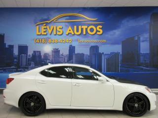 Used 2009 Lexus IS 250 BLANC MAGS 20 POUCES BEAU LOOK A VOIR SE for sale in Lévis, QC