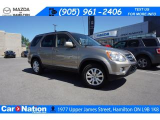 Used 2006 Honda CR-V EX-L | AS-TRADED | LEATHER | SUNROOF | 4X4 for sale in Hamilton, ON