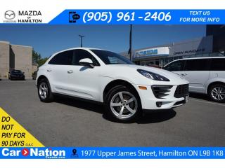 Used 2018 Porsche Macan PANO ROOF | LEATHER | NAV | PARK ASSIST for sale in Hamilton, ON