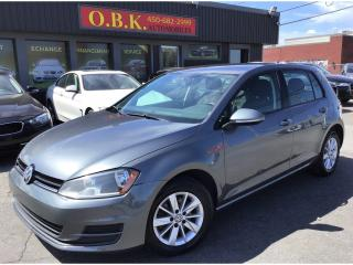 Used 2015 Volkswagen Golf AUTOMATIQUE-AIR CLIMATISE-BLUETOOTH-GR ELECTRIQUE for sale in Laval, QC