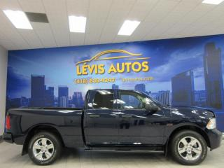 Used 2017 RAM 1500 5.7L HEMI 4X4 36000KM CAMÉRA BLUETOOTH M for sale in Lévis, QC