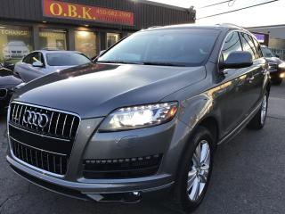 Used 2015 Audi Q7 TDI Progressiv-7 PASSAGERS-TOIT PANO-NAVIG-CAM REC for sale in Laval, QC
