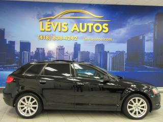 Used 2011 Audi A3 2.0 LITRES TURBO TOIT PANORAMIQUE CUIR E for sale in Lévis, QC