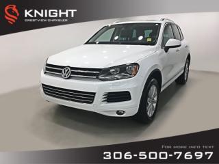 Used 2014 Volkswagen Touareg Comfortline | Leather | Sunroof | Navigation for sale in Regina, SK