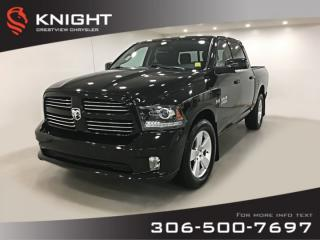 Used 2014 RAM 1500 Sport Crew Cab | Leather | Sunroof | Navigation for sale in Regina, SK