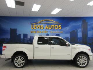 Used 2014 Ford F-150 LIMITED SUPER CREW CAB ECOBOOST 3.5L 963 for sale in Lévis, QC