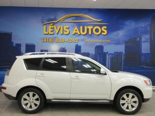 Used 2010 Mitsubishi Outlander XLS 4X4 V-6 3.0 LITRES CUIR TOIT OUVRANT for sale in Lévis, QC