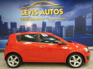 Used 2012 Chevrolet Sonic LT AUTOMATIQUE BLUETOOTH AIR CLIMATISÉ C for sale in Lévis, QC