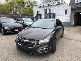 Used 2015 Chevrolet Cruze 4DR SDN DIESEL for sale in Brampton, ON