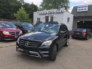 Used 2014 Mercedes-Benz ML-Class 4MATIC 4dr ML 350 BlueTEC for sale in Brampton, ON