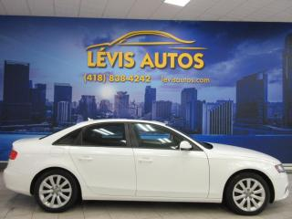 Used 2011 Audi A4 QUATTRO PREMIUM PACKAGE CUIR TOIT OUVRAN for sale in Lévis, QC