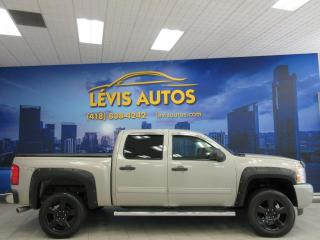 Used 2009 Chevrolet Silverado 1500 CREW-CAB V8 4X4 SEULEMENT 114900KM TRÈS for sale in Lévis, QC
