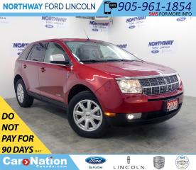 Used 2008 Lincoln MKX | AWD | PWR HTD/AC LEATHER | PWR LIFTGATE | for sale in Brantford, ON