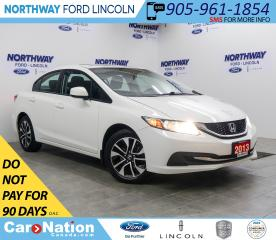 Used 2013 Honda Civic EX   HTD SEATS   BACKUP CAM   SUNROOF   ECO MODE   for sale in Brantford, ON