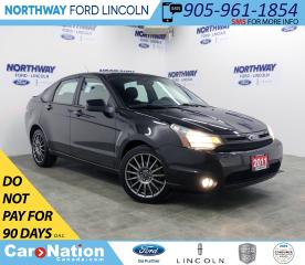 Used 2011 Ford Focus SES | HTD SEATS | KEYLESS ENTRY | CRUISE | SYNC | for sale in Brantford, ON