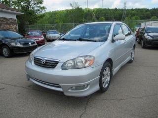 Used 2008 Toyota Corolla S for sale in Québec, QC