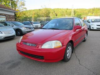 Used 1996 Honda Civic 2dr Cpe DX Auto w-ABS-AC for sale in Québec, QC