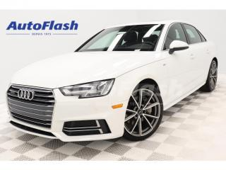 Used 2018 Audi A4 2.0T Progressiv *S-Line *GPS/Camera *Park-Assist for sale in St-Hubert, QC