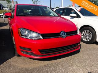 Used 2015 Volkswagen Golf Manuelle Trendline 1.8 TSI + Bluetooth + A/C for sale in Québec, QC