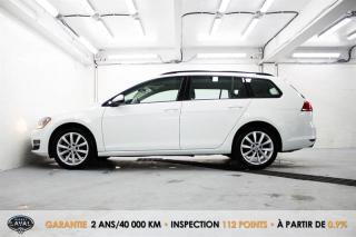Used 2017 Volkswagen Golf Sportwagen Automatique Comfortline 1.8 TSI +  Toit + Bas Kilo for sale in Québec, QC