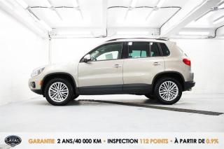Used 2016 Volkswagen Tiguan 4MOTION Spécial Édition + Keyless + Caméra for sale in Québec, QC