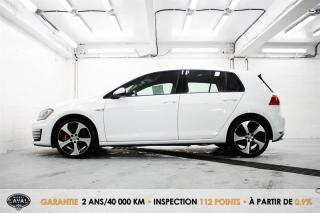 Used 2015 Volkswagen Golf GTI Manuelle Performance + GPS + Cuir + Keyless for sale in Québec, QC