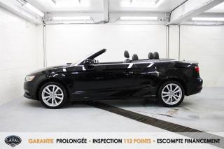 Used 2016 Audi A3 S tronic Cabriolet quattro 2.0T Komfort for sale in Québec, QC
