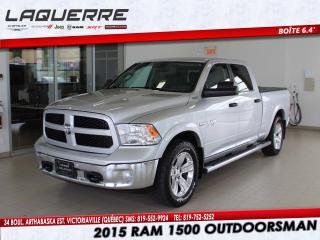Used 2015 RAM 1500 Outdoorsman*CREW *BOITE6.4* for sale in Victoriaville, QC
